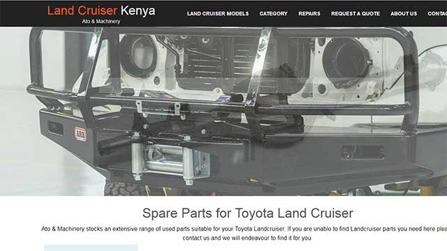 Land Cruiser Kenya Website