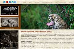 Tours Travel Website Design - Michael North Imagery Safaris