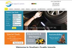 Car Website Design - southern quality imports ltd